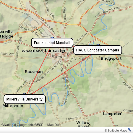 hacc lancaster campus map What Lancaster Is Doing For Affordable Higher Education hacc lancaster campus map